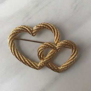 VTG Christian Dior Double Hearth Pin [ With Box ]